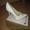 женские белые туфли со стразиками #424384