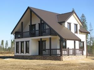 Производство и строительство каркасных домов. Слуцк - Изображение #1, Объявление #1685796