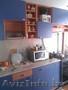 Б У Кухня Синяя с Оранжевым Красивая Удобная Взаимо заменяемая